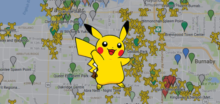 how to find pokemon nests